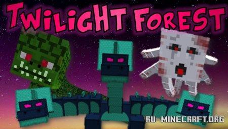 Скачать The Twilight Forest для Minecraft 1.16.5