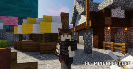 Скачать Spirits Samurai Gear для Minecraft 1.16