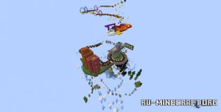 Скачать (Parkour) Troposphere для Minecraft