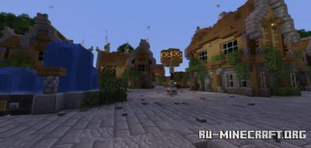Скачать Newport Island (Hub) для Minecraft