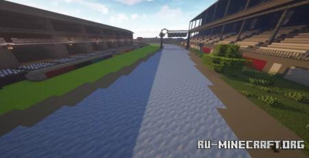 Скачать Green Prairie Raceway для Minecraft