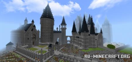 Скачать Hogwarts & The Surrounding Areas Version 4 для Minecraft PE