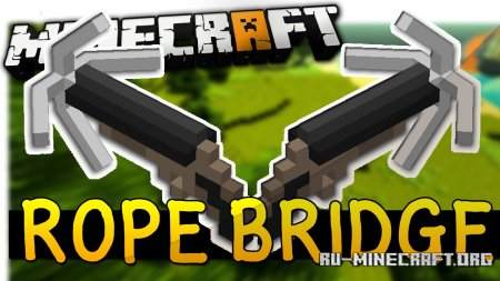 Скачать Rope Bridge для Minecraft 1.16.5