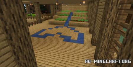 Скачать Oceanside Woodland Village для Minecraft
