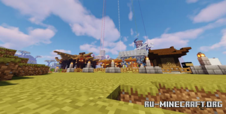 Скачать The 7 Towers - Japanese Map для Minecraft