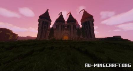 Скачать Medieval Castle by ReynoYK для Minecraft