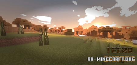Скачать Tegra Shader для Minecraft PE 1.16