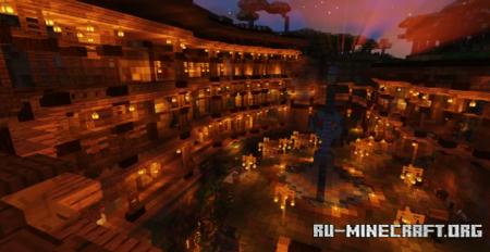 Скачать Western Mountainside Village для Minecraft