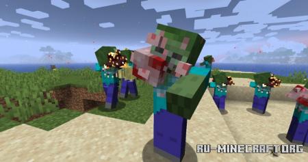 Скачать The Undead для Minecraft 1.16.5