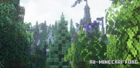 Скачать Fantasy Foresr для Minecraft