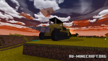 Скачать The Mining Driller 9000 для Minecraft PE 1.16