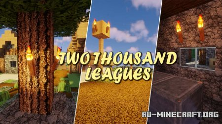 Скачать Two Thousand Leagues для Minecraft 1.16
