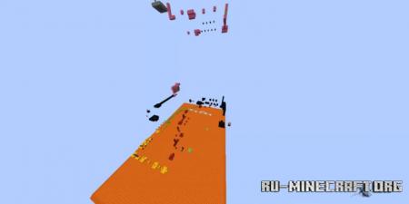 Скачать Difficulty Chart Parkour для Minecraft