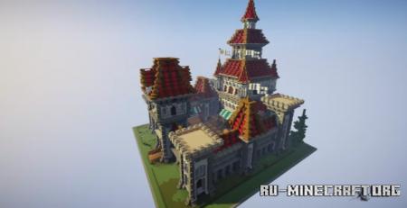 Скачать CastleSpawn by SanLuciifer для Minecraft