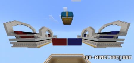 Скачать Mega Bridge Wars для Minecraft PE