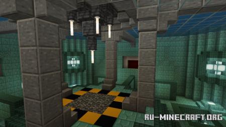 Скачать The Prismarine Arena - PvP Map для Minecraft PE