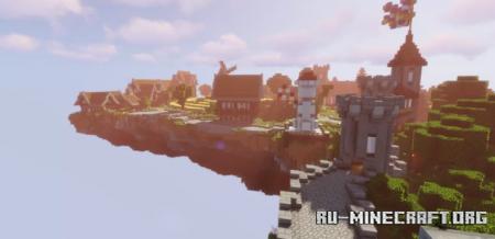 Скачать Massilia village in the sky для Minecraft