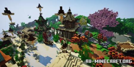 Скачать Japan-Lobby by Yunite для Minecraft