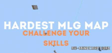 Скачать Hardest MLG Map для Minecraft PE