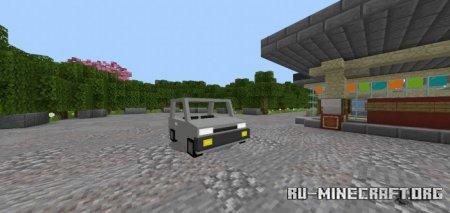 Скачать 2021 Econobox для Minecraft PE 1.16