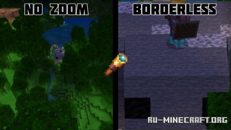 Скачать Borderless Spyglass Scope для Minecraft PE 1.16