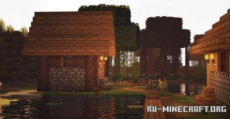 Скачать Overgrowth Resource [32x] для Minecraft 1.15