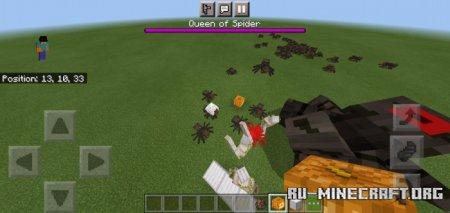 Скачать Queen of Spiders для Minecraft PE 1.16