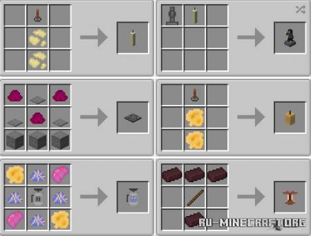 Скачать Magic Candles для Minecraft 1.16.5