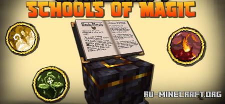 Скачать Schools of Magic для Minecraft 1.16.5
