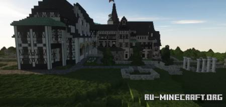 Скачать Peles Castle by machspeed для Minecraft