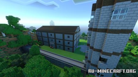 Скачать Outer Castles для Minecraft PE 1.16