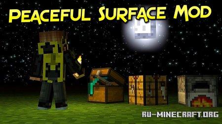 Скачать Peaceful Surface для Minecraft 1.17