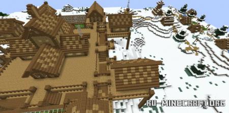 Скачать Snow Lands House для Minecraft