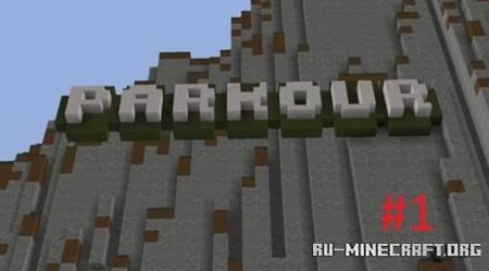 Скачать Parkour by Odderthanme для Minecraft