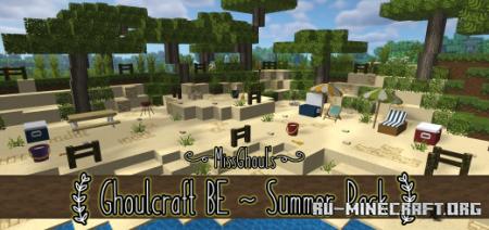 Скачать Ghoulcraft BE - Summer Pack для Minecraft PE 1.16