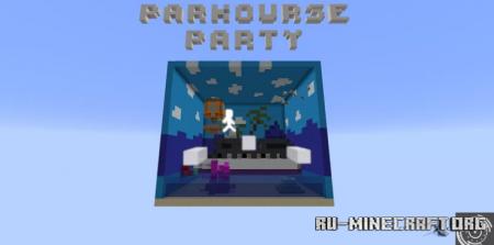 Скачать Parkourse Party by CipherStudios для Minecraft