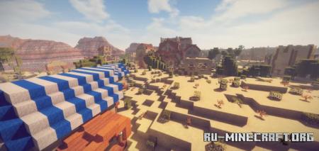 Скачать Desert City - Oasis by Ferendum для Minecraft