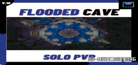 Скачать Flooded Cave PvP для Minecraft PE