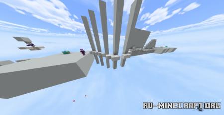Скачать Clutch Parkour Map для Minecraft PE