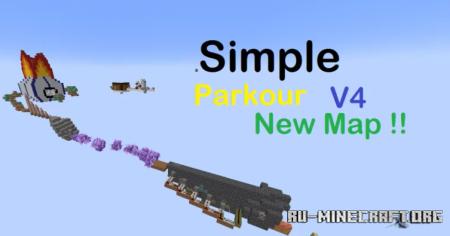 Скачать Simple Parkour V4 для Minecraft