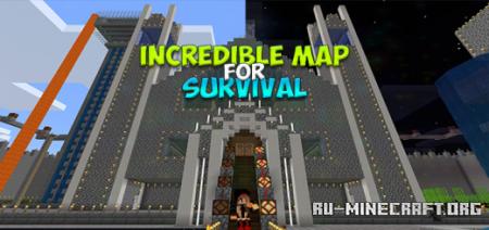 Скачать NANA - Incredible Map for Survival для Minecraft PE