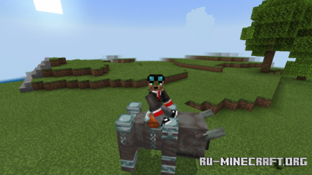 Скачать Rideable Ravager для Minecraft PE 1.16
