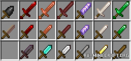 Скачать More Weapons Add-On by quinndoesscouts для Minecraft PE 1.16