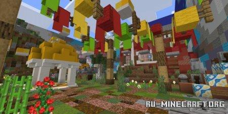 Скачать Amazing Jump by SquarePixelsStudio для Minecraft PE