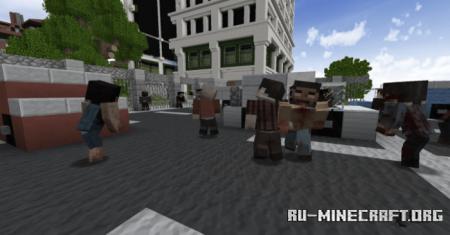 Скачать Tissou's Zombie для Minecraft 1.17