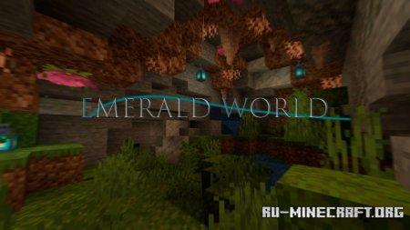 Скачать Emerald World для Minecraft