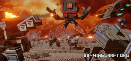 Скачать Mecha-Craft для Minecraft PE 1.16