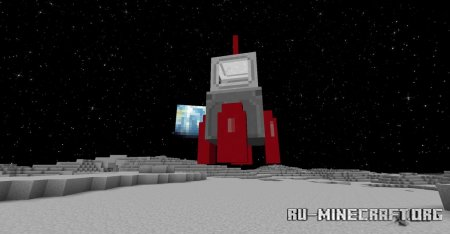 Скачать Moon and Space для Minecraft 1.16.5