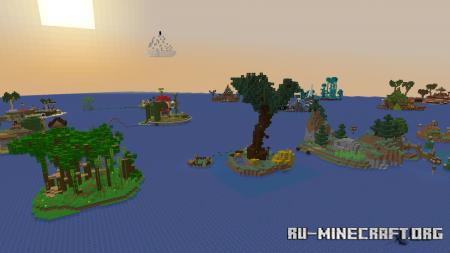 Скачать Adventure Island by Shinyzx для Minecraft