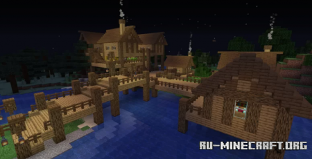 Скачать Over the River для Minecraft